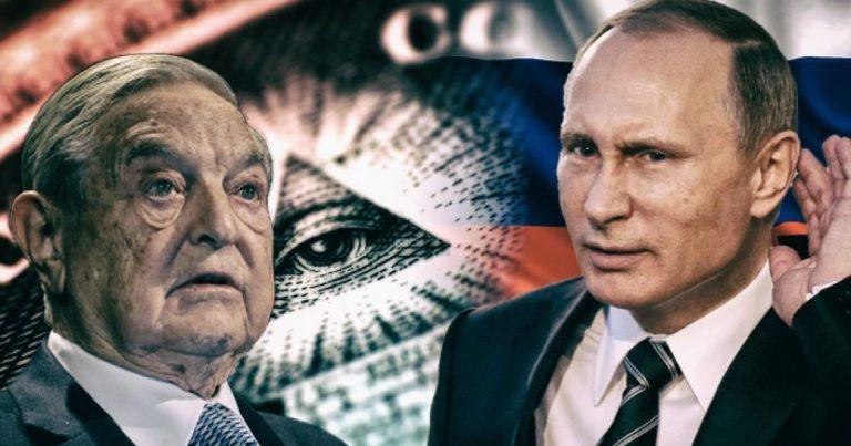 Russian President Vladimir Putin Knocks US for Sheltering George Soros