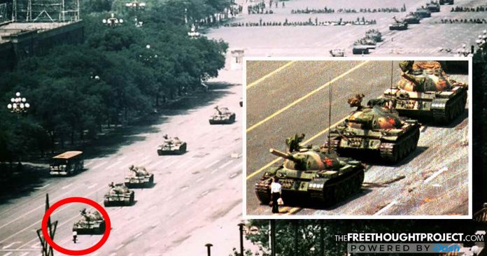 29 Years Ago, An Anonymous Hero Showed the World One Man Could Stop an Army