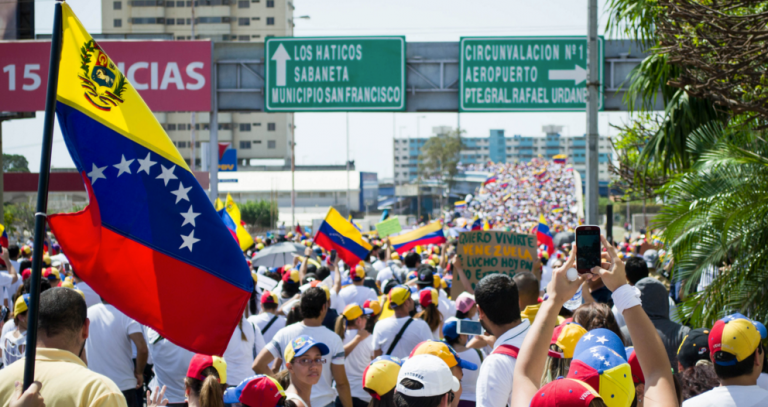 """Collapse of Venezuela perfectly demonstrates what happens when Left-wing governments confiscate everything from productive members of society to REDISTRIBUTE in the name of """"equality"""""""