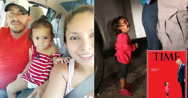 Migrant Mom and 'Crying Girl' On TIME Cover Separated HERSELF From Husband With Good Job, 3 Other Kids, Paid Coyote $6K to Sneak Into the US
