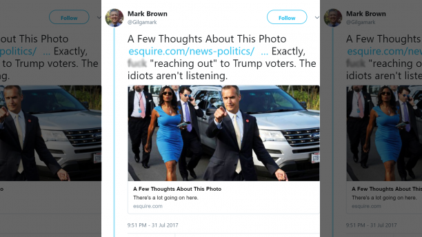 """Top Tennessee Democrat official: """"F*ck reaching out to Trump voters…the idiots aren't listening"""""""