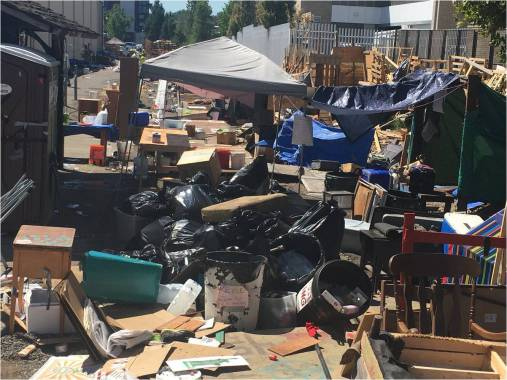 Filthy pigs: Portland to cleanup disgusting Occupy ICE camp, calling it biohazard