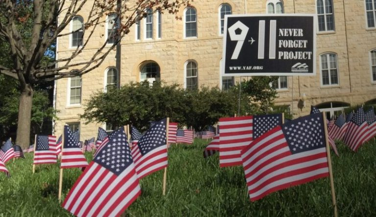 Campus BANS Sept. 11 memorial tribute because it may offend Muslims
