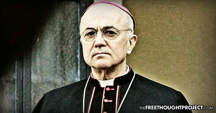 Archbishop Reportedly Flees Italy, Fearing for His Life, After Accusing Pope of Sex Abuse Cover Up