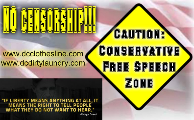 "Conservative FREE SPEECH is BACK! Introducing The ""Conservative Free Speech Zone"""