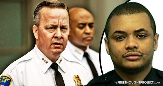 Baltimore: Dept Claims Cop Killed Himself, While Chasing Suspect, Days Before Testifying Against Fellow Cops