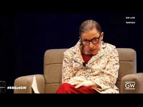 Ruth Bader Ginsburg Just Received a $1 Million Prize and it Links Her to China