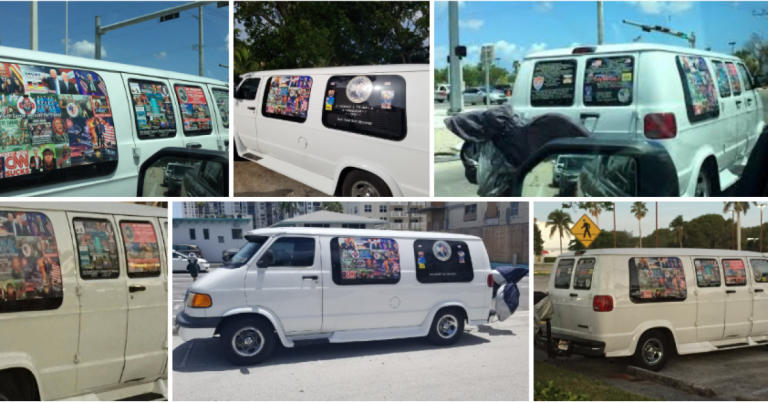 "Wondered Why All Those Trump Stickers On Fake ""MAGA"" Bomber's Van Were So Pristine? – Here's Why"