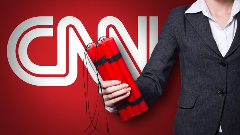 "Deep state rolls out staged ""bomb"" attack on CNN headquarters, EXACTLY as Mike Adams and Alex Jones publicly predicted"