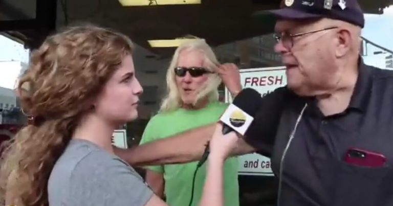 WATCH: Liberal Protester Threatens to Rape Reporter… Feminists Immediately Jump in to Defend Him and Deny it Happened
