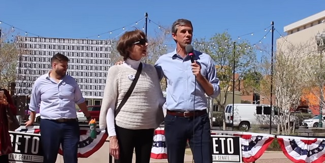 Beto O'Rourke's 'Lifelong Republican' Mom Voted In Dem Primaries Since 2000, Donated to Obama