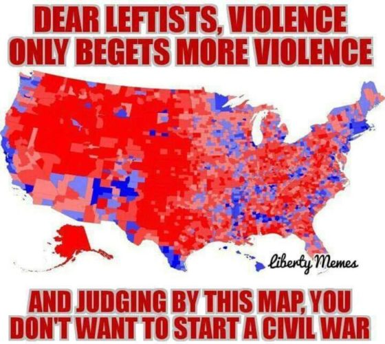 "James Woods: ""I guess they want civil war… would not end well for them"""