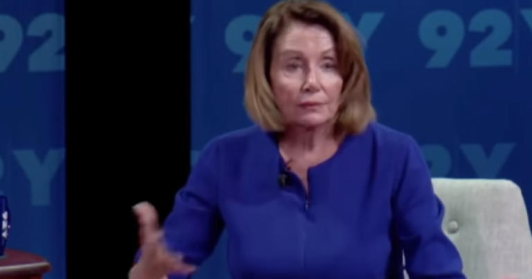 "Nancy Pelosi: When We Take Over, If You Don't ""Share Our View,"" You'll Be ""Collateral Damage"""