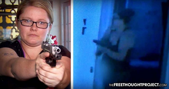 California: Despite Strict Gun Control, Mom Manages to Buy a Gun and Protects Kids from Home Invader