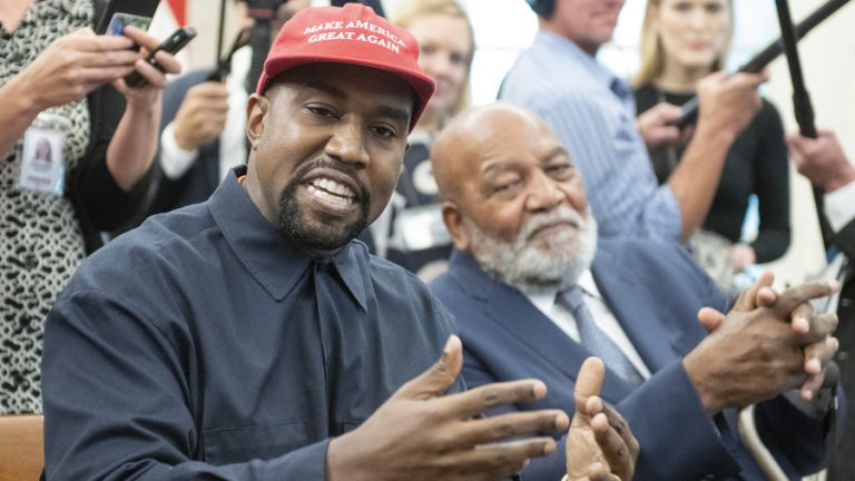 """BLEXIT"" — Kanye West Urges Blacks to Leave the Democrats Behind"