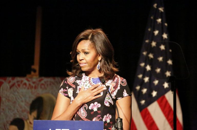 Straight from Democrat Playbook, Michelle Obama Reaches Out to Ignorant Voters