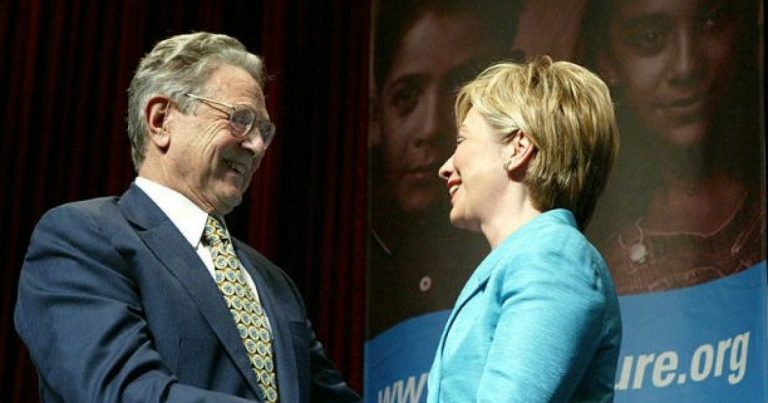 Flashback: Hillary Clinton: We Need People Like George Soros To Step Up & Get Involved In Our Country