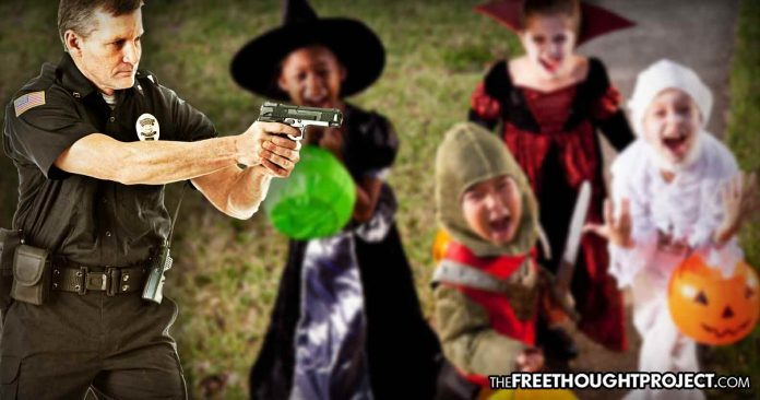Cities Now Threatening Jail Time and Fines for Kids Over 12 Who Go Trick-Or-Treating