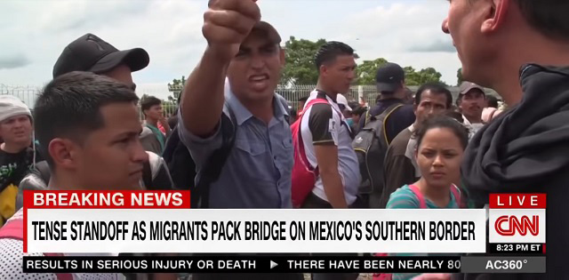 Thousands of Honduran migrants defy Trump to continue journey North Trump-anti-christ-honduran-migrants-1