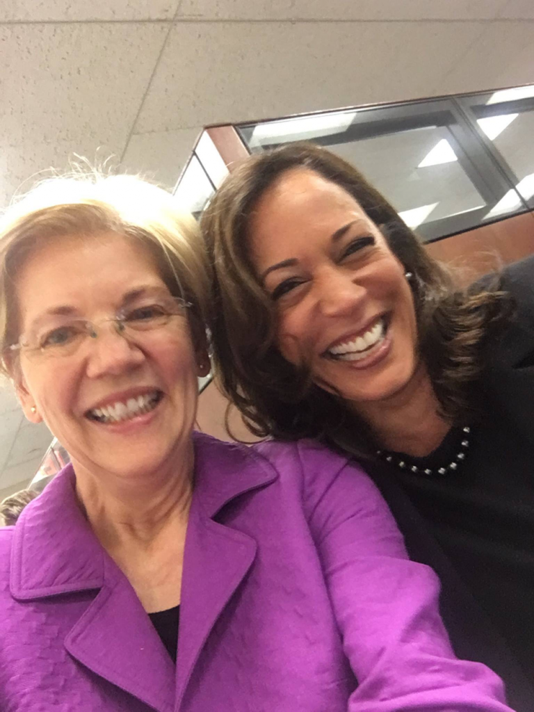 Kamala Harris & Elizabeth Warren Have Ethics Complaint Filed Against Them In Senate