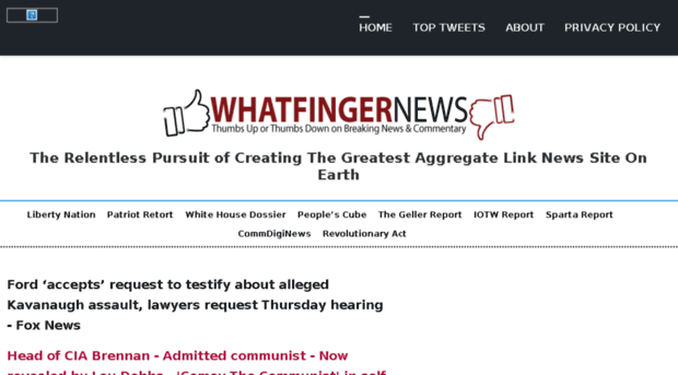 Evil WordPress shadow-bans Whatfinger News