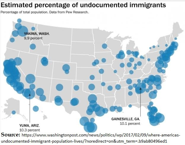 2 maps show why Democrat Party is pro-illegal immigration