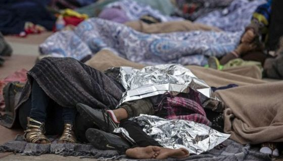 1/3 Of Migrants In The Caravan Are Sick, Some With Deadly Diseases