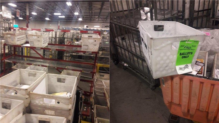 Opa-locka Postal Facilty that Allegedly holds Uncounted Ballots, is the SAME Facility that Processed Cesar Sayoc's Pipe Bombs