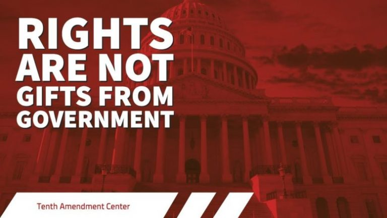 Fact: Rights Are Not Gifts From Government
