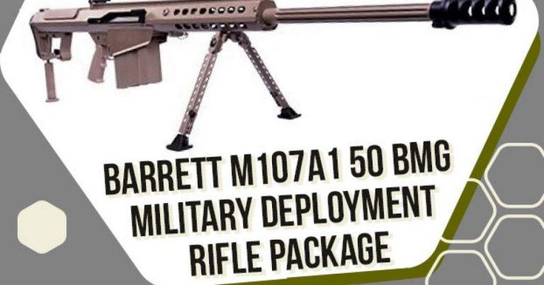 Conservative, Christian Gun Dealer Giving Away Rare $15,000 Barrett 50 Cal BMG Military Deployment Rifle Package