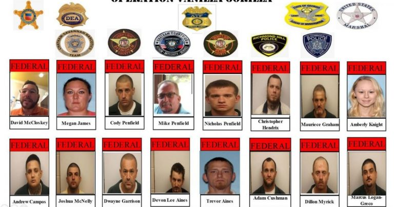 Operation Vanilla Gorilla: Trump Administration Busts 40 Defendants Linked To White Supremacist Street Gang