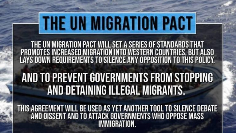 Urgent SOS from Canada: If Trudeau Signs UN Migrant Pact, Canada & America are BOTH in Danger
