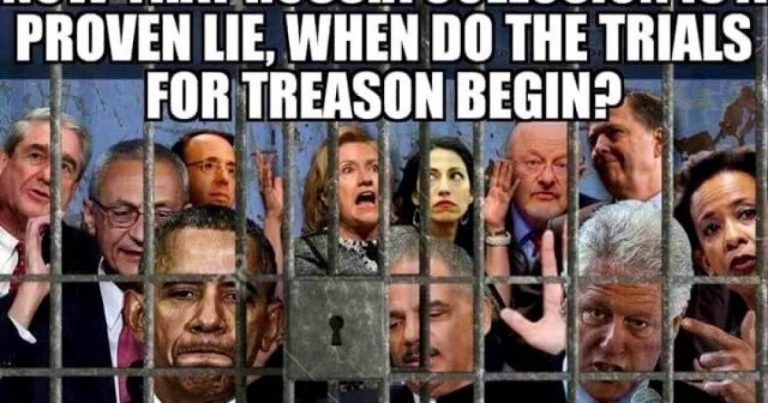 The Treason Trials Begin When You Say They Do, Mr. President