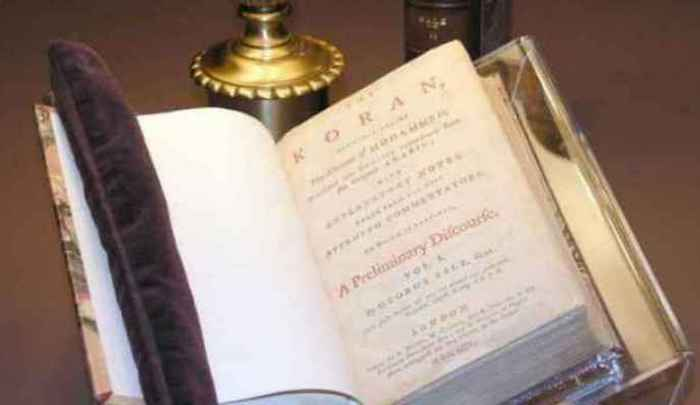"Muslim Rep. Rashida Tlaib To Be Sworn In  On Jefferson's Qur'an: ""Muslims Were There At The Beginning"""