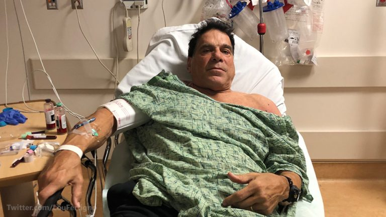 """Incredible Hulk"" Lou Ferrigno hospitalized after vaccination goes horribly wrong"