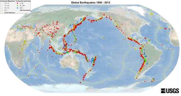 2 Major Volcanic Eruptions And Dozens Of Significant Earthquakes Have Struck The Ring Of Fire Within The Last 24 Hours