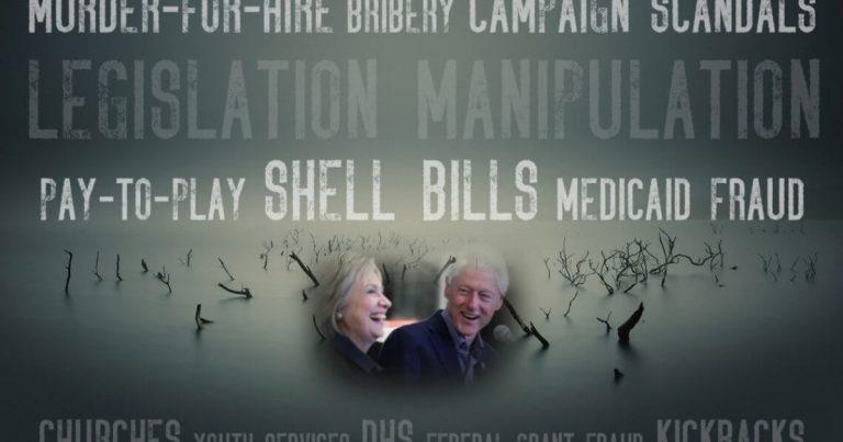 Arkansas Swamp Bleeds as Clintons Circle The Drain