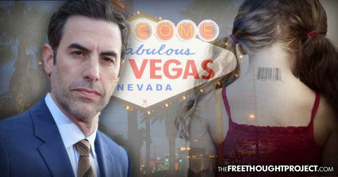 Sacha Cohen Appears to Expose Elite Pedophile Ring While Filming in Vegas — FBI Ignores It