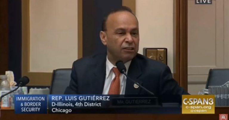 Watch: Unhinged Illinois Congressman Luis Gutierrez suggests Trump would help kill Jesus, storms out of hearing