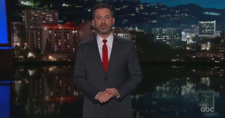 (VIDEO) Insufferable jerk: Jimmy Kimmel mocks donors to border wall GoFundMe campaign as 'dopey' meth users