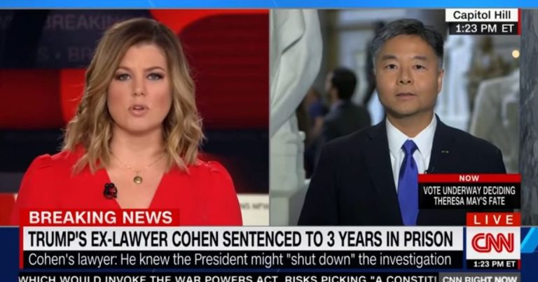 """Watch: Dem Congressman Ted Lieu admits """"I would love to be able to regulate the content of speech"""""""