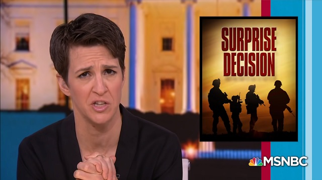 War-Hungry Hypocrite Rachel Maddow 'Wrote An Entire Book in 2012 Denouncing Illegal US Endless War'