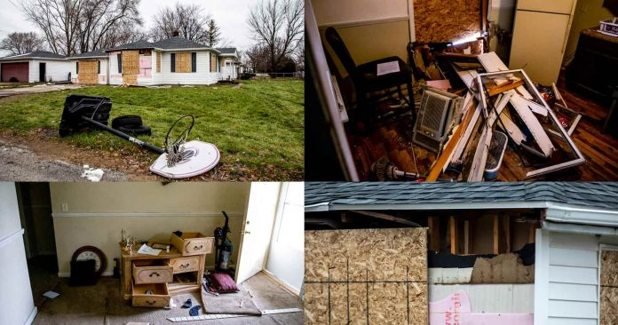 Michigan: Mother and Children Left Homeless After Police Destroy House Looking for Non-Existent Suspect