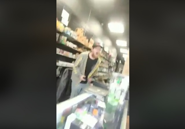 WATCH: Atlanta — Snowflake Vape Shop Attendant Has Mental Breakdown, Refuses to Sell to Trump Supporter
