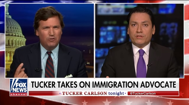 Tucker: Dems' Message to Americans on Immigration is 'Shut Up, You're Dying, We're Going to Replace You'