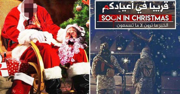 "An Islamic Christmas Greeting: ""We Are Thirsty For Your Blood"""