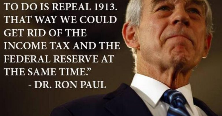 House Republicans Submit Bills To Audit The Fed & Abolish IRS