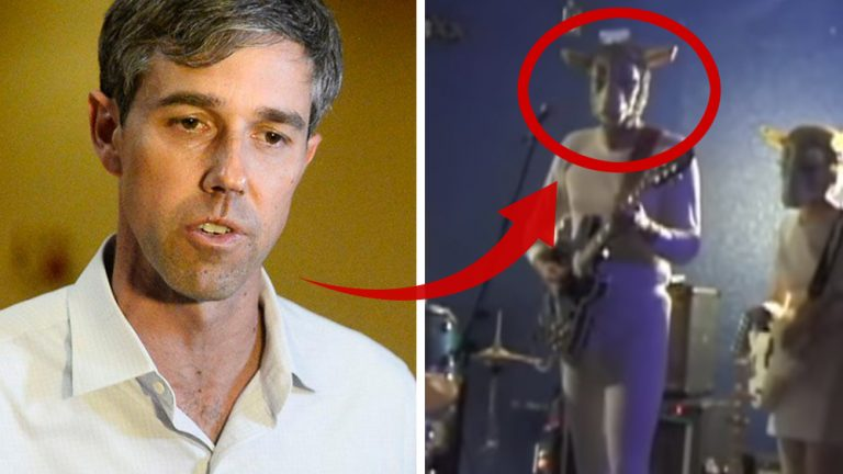 "Texas Democrat ""Beto"" O'Rourke outed wearing ""Devil goat"" costume; left-wing media tries to spin narrative away from Satanism"