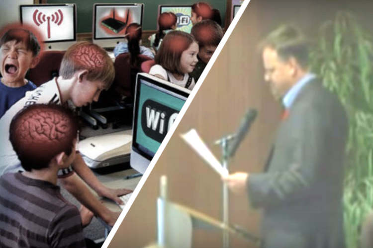 Award Winning Journalist Exposes WIFI Disaster in Canadian Public School That Injured Dozens of Children