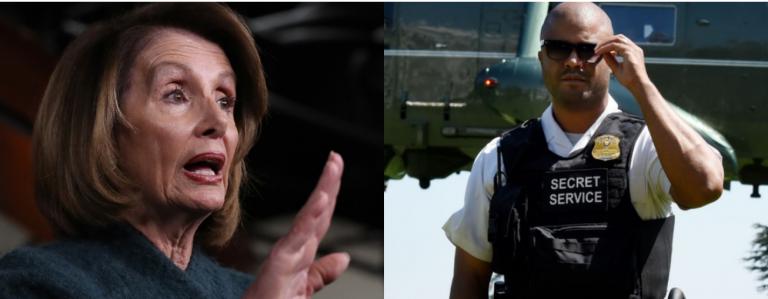 Secret Service: Nancy Pelosi Is Lying